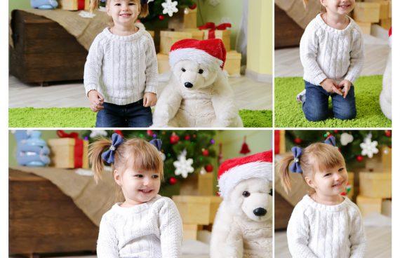 фотостудия киев, новогодняя фотосессия, детский фотограф